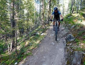 Ongekend Mountain Bike the Breathtaking Colorado Trail WS-33
